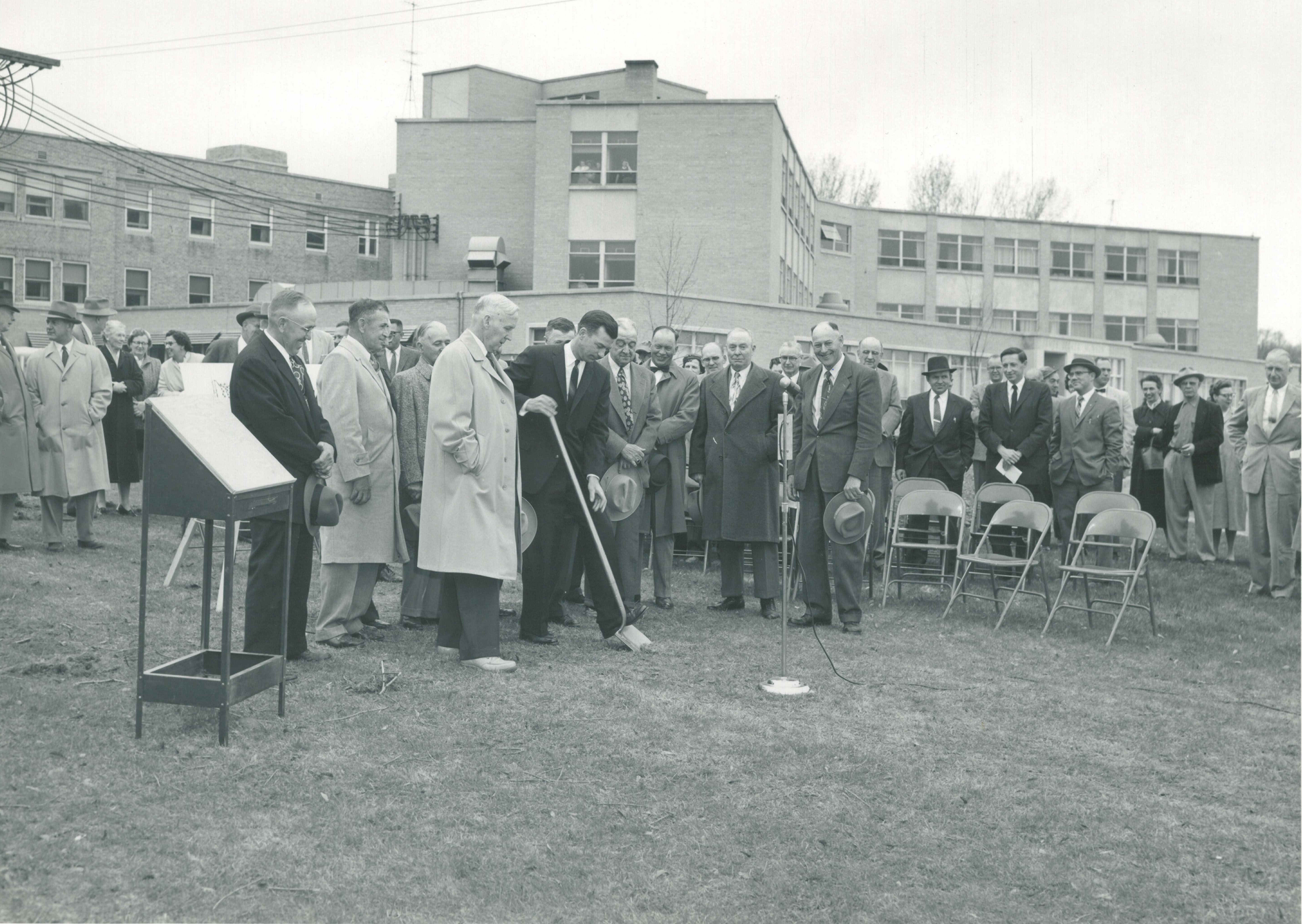 Art Schmuckal Groundbreaking Ceremony